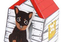 Animal House-it / 새로 출시된 애니멀 하우스-잇 시리즈 입니다. 각각 다른 디자인의 집과 박스를 가진 북마커 겸용의 스탠딩 메모잇입니다. 어떤 동물을 키워보실래요??   http://www.thehaki.com
