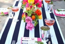 Stripes at the Table / Striped table settings