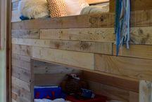 Motorhome bunks