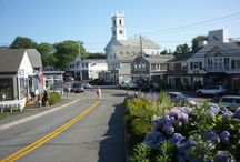 Travel. Quaint New England. / Traditional small New England towns and cities that make New England so special!
