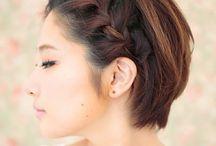 brades for short hair