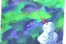 lumiukko ja repolaiset