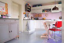 Decoração e organização da cozinha