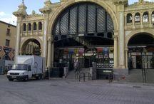 Fotos del día a día / Fotos de la actividad diaria del Mercado Central de Zaragoza