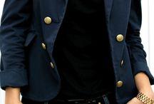 blazer marinho