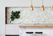 Pure marble and brass