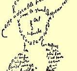 kaligram, lettrismus