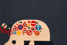 Tom Eckersley / Graphic designer & artist Tom Eckersley, one my fav inspirations.