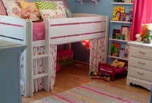 Bedroom idea for kids / by Renae Robertson