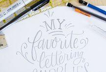 Lettering - tuto