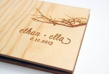 Wedding guest book ideas / Wedding guest book ideas and alternative guest books