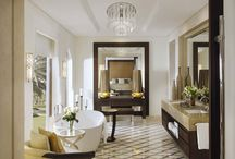 One&Only The Palm Dubai / The One and Only Palm Dubai - still the one and only most exquisite destination in Dubai. Opulent bathroom suites, supplied by BAGNODESIGN, are always on trend.   #hotel #hospitality #projects #bathroom