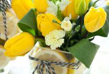 decoración  de mesas flores , velas