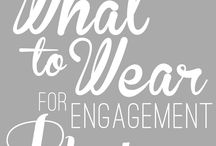 Outfit ideas for engagement pictures