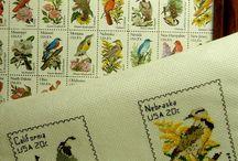 cross stitch Stamps