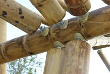 Bamboo constructions,details