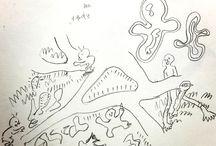 my drawing / mine