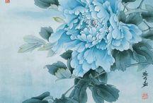 Китайская (японская) живопись