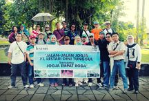 Trip Jogja Sea.1 / Jalan-Jalan Jogja PT. Lestari Dini Tunggul bersama Jogja Empat Roda