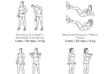 Knees workout