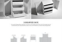 Organizer / basket, storage box design