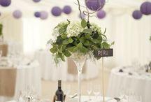 levendula esküvői dekor