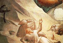 Таддео Гадди (итал. Taddeo Gaddi; 1290, Флоренция — 1366, там же) / Таддео Гадди учился у своего отца, художника Гаддо Гадди, позднее работал у Джотто ди Бондоне[1], упоминается во главе списка лучших художников Флоренции. Среди его произведений одним из значительных является цикл фресок «История Девы Марии» в Капелле Барончелли Базилики Санта-Кроче во Флоренции (1328 — 1338). Некоторое время спустя он расписал панели для ризницы той же церкви, в настоящее время они разделены между Галереей Академии во Флоренции и музеями в Мюнхене.