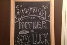 Chalkboard Art / by Geysa Peeler