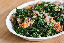 vegetarian: salads