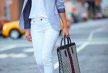 Pants: White