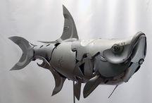 ~ STeam ART recycl / Steam punk art - recycled sculptures