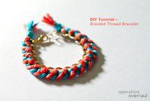 DIY Bracelets / by Diana Rabanal Dingeldein