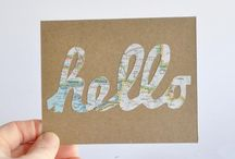 Greeting cards DIY