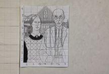 Art Integration in Math / Putting Art into Math / by Rose Switalski