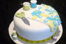 Sewing Themed Cakes