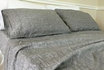 Best Linen Sheets / Natural linen bed sheets, 40+ linen fabric color choices, washed linen, soft and breathable. Top sheet and fitted sheet (extra deep pocket) can be purchased as a set or separately.  Order free linen swatches: http://www.superiorcustomlinens.com/swatches