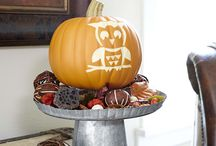 Fall Decorations / Harvest, Halloween and fall decorations / by Brenda Jowers