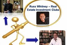 Russ Whitney Real Estate Investment Clubs / Any issues regarding real estate can be sorted out through the medium of real estate investment club.