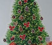 Children's Christmas Stickers / Christmas stickers and signs for Kids.  Children's Christmas activities.