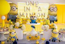 Leo's Minion Birthday Party