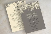 Invitations / Setting the tone for the event!