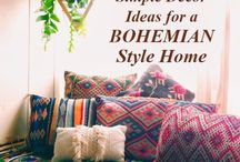 Boho decor home