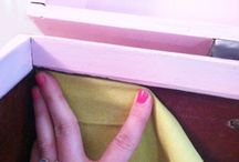 Knitting box reupholstery