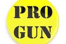 Gun Control Buttons / Funny Buttons - Custom Buttons - Promotional Badges - Gun Control Pins - Wacky Buttons