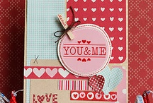 Card: Valentine 2 / Assorted valentine card ideas / by Vera