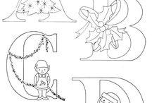 karácsonyi betűk