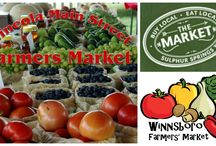 Farmers market recipes and info