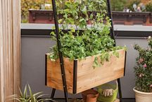 Built in flower box benches diy