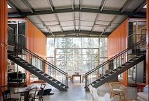 :: Container Home -- Interior -- ~ / by Eduardo Godoi