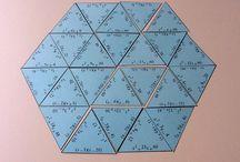 tablero triángulos